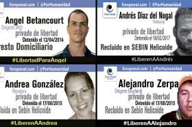 Venezuelští političtí vězni