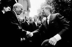 Nikita Sergejevič Chruščov a John Fitzgerald Kennedy