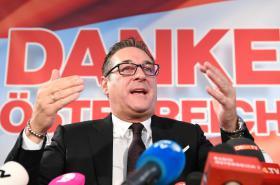 Šéf Svobodných Heinz-Christian Strache