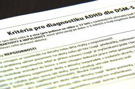 Test zjišťování ADHD u dospělých