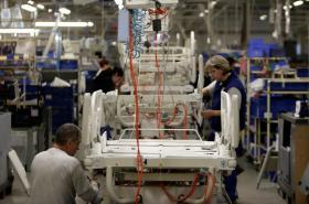 Výroba ve firmě Linet