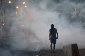 Protesty v Tegucigalpa