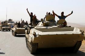 Irácká armáda blízko města Tal Afar