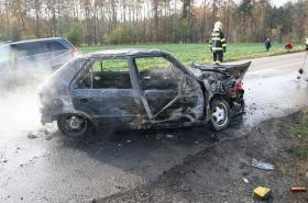 Oceněný hrdina: Na řidiče už sahaly plameny, když jsem ho vytáhl