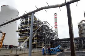 Etylenová jednotka petrochemie v Chemparku Unipetrolu