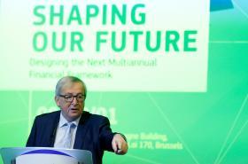 Předseda Evropské komise Jean-Claude Juncker hovoří o budoucnosti unijních fondů.
