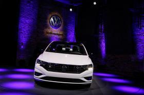 Vůz Jetta od Volkswagenu