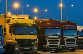 Odstavné parkoviště pro kamiony