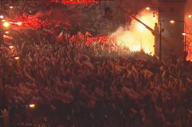 Pochod spolupořádaný krajně pravicovou stranou Národní hnutí