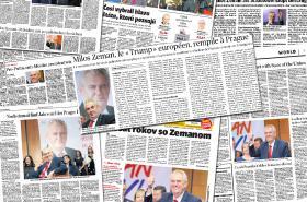 Zahraniční tisk o českých prezidentských volbách
