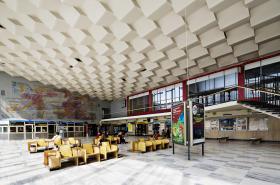 Budova nádraží v Havířově