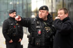 Policisté v centru Ostravy