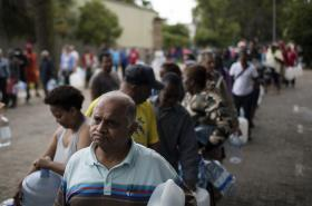 Nedostatek vody v Kapském Městě
