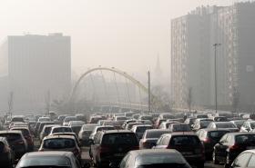 Smog nad Katowicemi