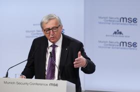 Jean-Claude Juncker má projev na mnichovské konferenci