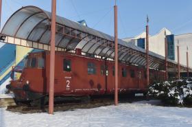 Železniční motorový vůz M 290.0 zvaný Slovenská strela