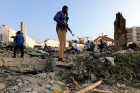 Útok v somálské metropoli