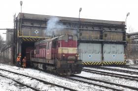 ArcelorMittal Ostrava (AMO) musí v zimních měsících rozmrazovat vagony s uhlím a železnou rudou