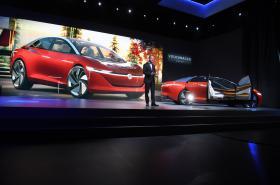 Volkswagen představuje limuzínu I.D. Vizzion.