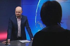 Pavla Holcová hostem Newsroomu ČT24