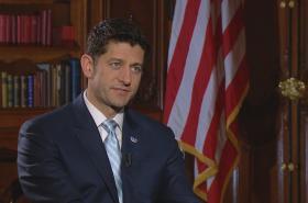 Paul Ryan v rozhovoru pro ČT