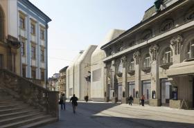 Umělecká vizualizace projektu SEFO Olomouc