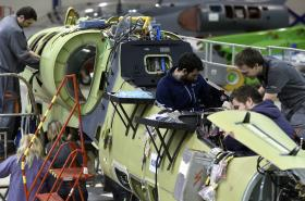 Výroba společnosti Aero Vodochody