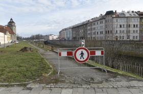 Stavba protipovodňových opatření v Olomouci