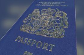 Nový britský pas
