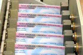 Výroba občanských průkazů