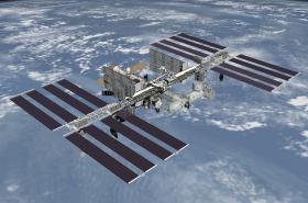 Mezinárodní vesmírná stanice na nízké oběžné dráze Země