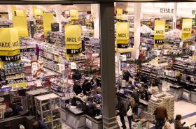 Slevy v obchodě