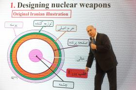 Netanjahu ukazuje dokumenty o íránském jaderném programu