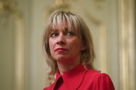 Mluvčí ruské diplomacie Maria Zacharovová