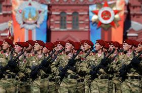 Oslavy 73. výročí konce 2. světové války v Rusku