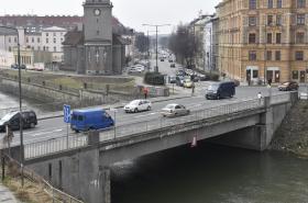 Most v Komenského ulici