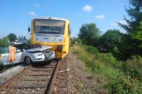 Tragická nehoda na přejezdu