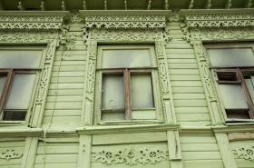 Zamalovaná okna v Samaře