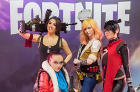 Cosplay v současné době velmi populární videohry Fortnite
