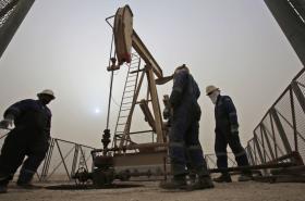 Těžba ropy v Bahrajnu