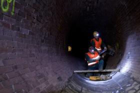 Oprava stokové kanalizace v Praze