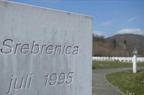 Památník ve Srebrenici