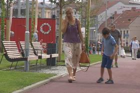 Na Mendlově náměstí vznikl nový park