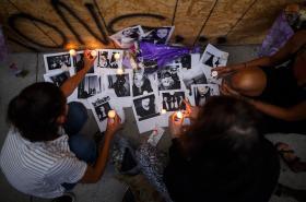 Památka obětem střelby v Torontu
