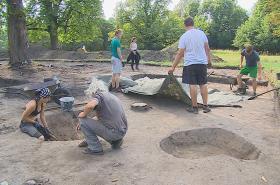 Archeologové na Pohansku