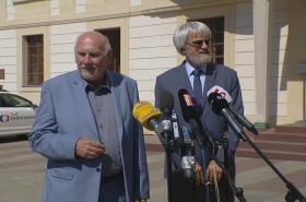 Pavel Rychetský a Pavel Šámal