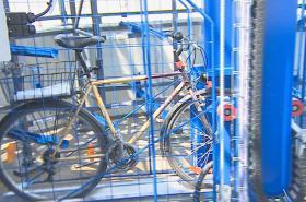 V Břeclavi si turisté i místní uloží jízdní kola do cyklověže