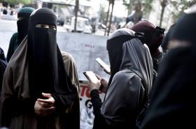 Zahalené muslimské ženy. Ilustrační foto
