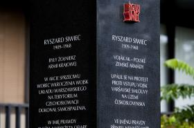 Pomník v Siwiecově ulici v Praze