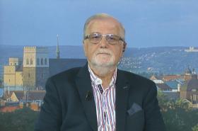 Prezident Svazu průmyslu a dopravy ČR Jaroslav Hanák